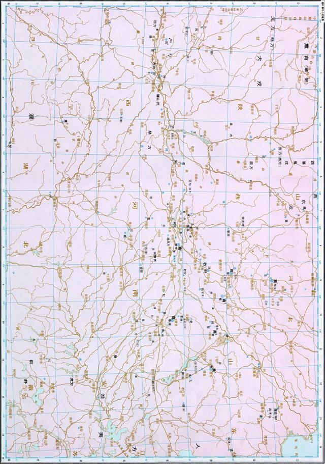 图说连环画:商朝时期的区域图和区域中心图(彩色横版)